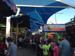 One small section of the midway